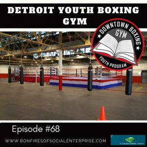Detroit boxing gym social media